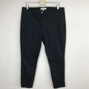 Michael Kors Crop Pants Black Sz: 14